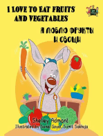 I Love to Eat Fruits and Vegetables ( Russian Bilingual Book)