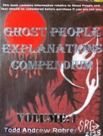 Ghost People Explanations Compendium Volume:1