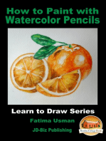 How to Paint with Watercolor Pencils
