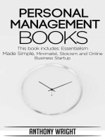 Personal Management Books
