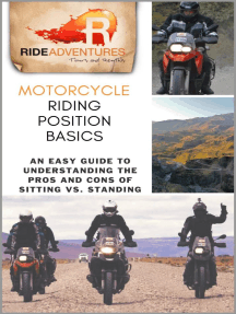 Motorcycle Riding Position Basics: An Easy Guide to Understanding the Pros and Cons of Sitting vs. Standing