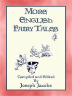 MORE ENGLISH FAIRY TALES - 44 illustrated children's stories from England