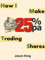 How I Make 25%pa Trading Shares