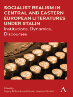 Socialist Realism in Central and Eastern European Literatures under Stalin: Institutions, Dynamics, Discourses