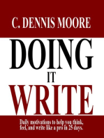 Doing it Write