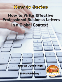 How to Write Effective and Professional Business Letters in a Global Context