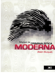 manual de criminalistica moderna alain buquet pdf