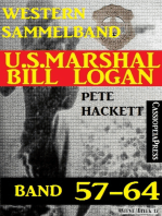 U.S. Marshal Bill Logan Band 57-64 (Sammelband)