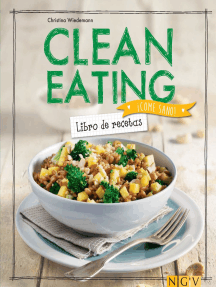 Clean Eating: Libro de recetas