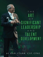 The Art Of Significant Leadership And Talent Development