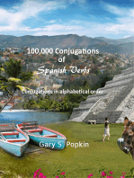 100,000 Conjugations of Spanish Verbs