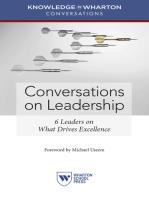 Conversations on Leadership