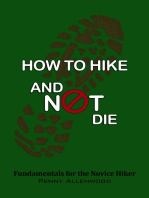 How to Hike and Not Die