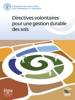 Directives volontaires pour une gestion durable des sols