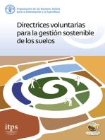 Directrices voluntarias para la gestión sostenible de los suelos