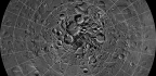Lava Tubes With Skylights Found at Moon's North Pole
