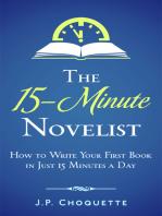 The 15-Minute Novelist