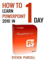 How To Learn PowerPoint 2010 In 1 Day