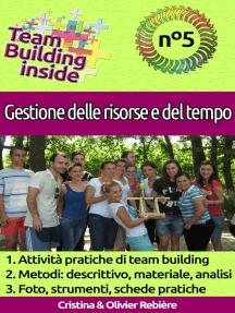 Team Building inside n°5 - Gestione delle risorse e del tempo: Create e vivete lo spirito di squadra!