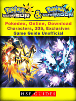 Pokemon Sun & Moon, Ultra, Pokedex, Online, Download, Characters, 3DS, Exclusives, Game Guide Unofficial: Beat your Opponents & the Game!