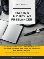Making Money as Freelancer