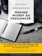 Making Money as Freelancer
