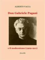 Don Gabriele Pagani e il modernismo (1909-1911)
