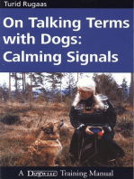 ON TALKING TERMS WITH DOGS