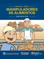Manual para manipuladores de alimentos