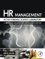 HR Management in the Forensic Science Laboratory