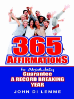 365 Affirmations to Absolutely Guarantee a Record Breaking Year