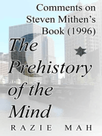 Comments on Steven Mithen's Book (1996) The Prehistory of The Mind