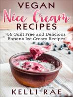 Vegan Nice Cream Recipes