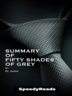 Summary of Fifty Shades of Grey by EL James