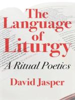 The Language of Liturgy