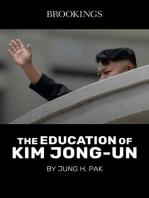 The Education of Kim Jong-Un
