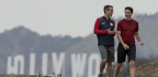 LA Mayor And Canadian Prime Minister Take A Morning Hike In Griffith Park