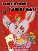 I Love My Mom J'aime Ma Maman (Bilingual English French Kids Book)