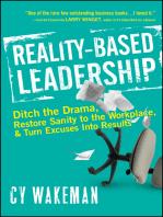 Reality-Based Leadership