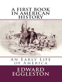 """A First Book in American History: """"An Early Life of America"""""""