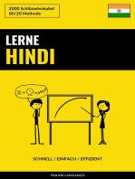 Lerne Hindi
