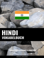 Hindi Vokabelbuch