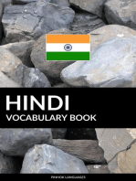 Hindi Vocabulary Book: A Topic Based Approach