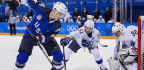 Slovenia Rallies To Upset U.S. In Men's Hockey, 3-2