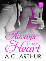 Always In My Heart (A Donovan Friends Novella)