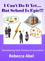 I Can't Do It Yet...But School Is Epic!!!