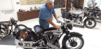 Known More For Comedy And Cars, Jay Leno Gives A Glimpse Of His Vast Motorcycle Collection