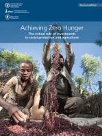 Achieving Zero Hunger