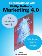 Samenvatting van Philip Kotler's Marketing 4.0