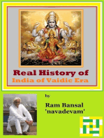 Real History of India of Vaidic Era